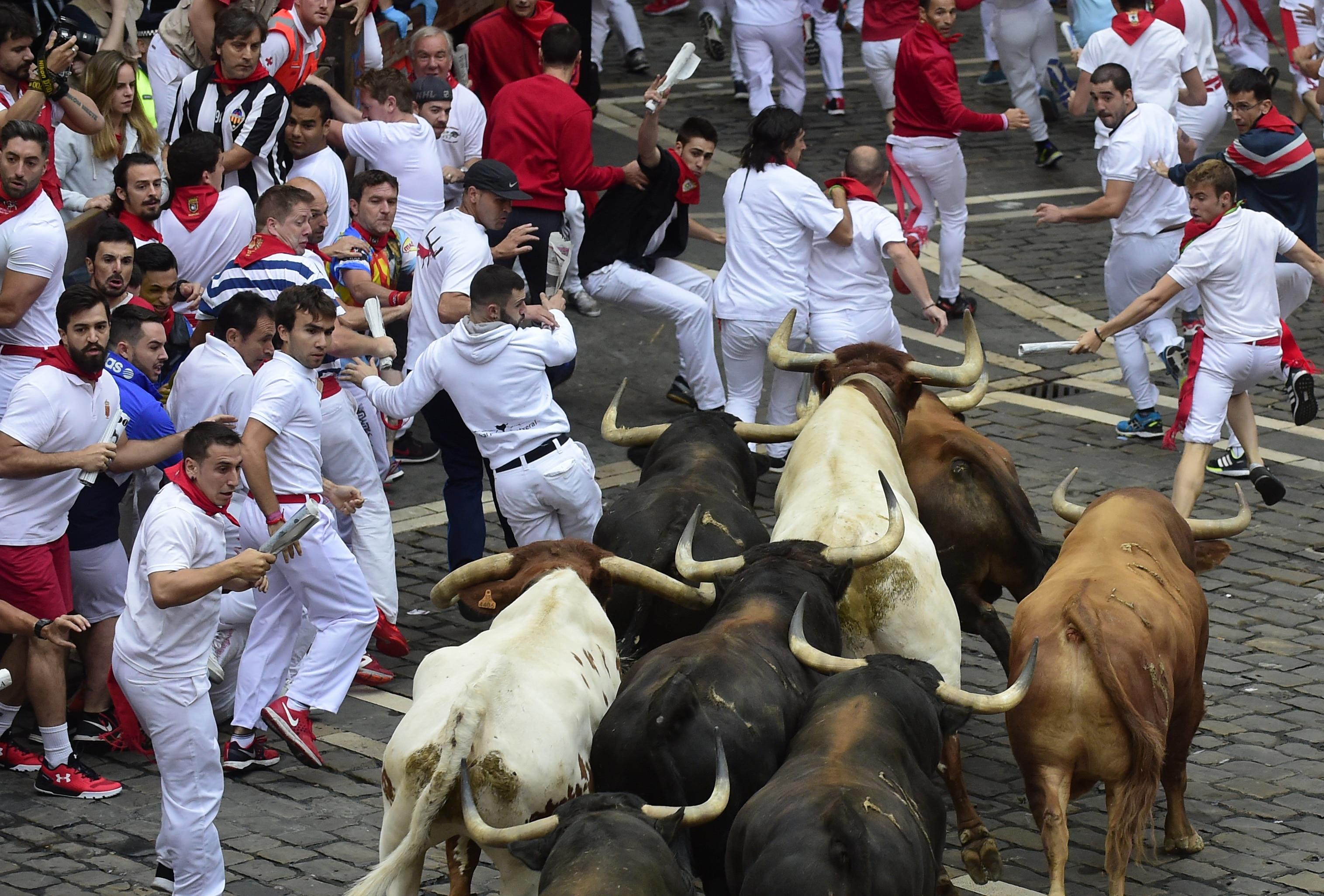 La Corsa Dei Tori Di Pamplona 6 14 Luglio 2018 Quello Che Cè Da