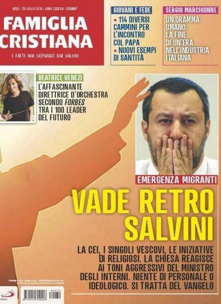 copertina contro salvini