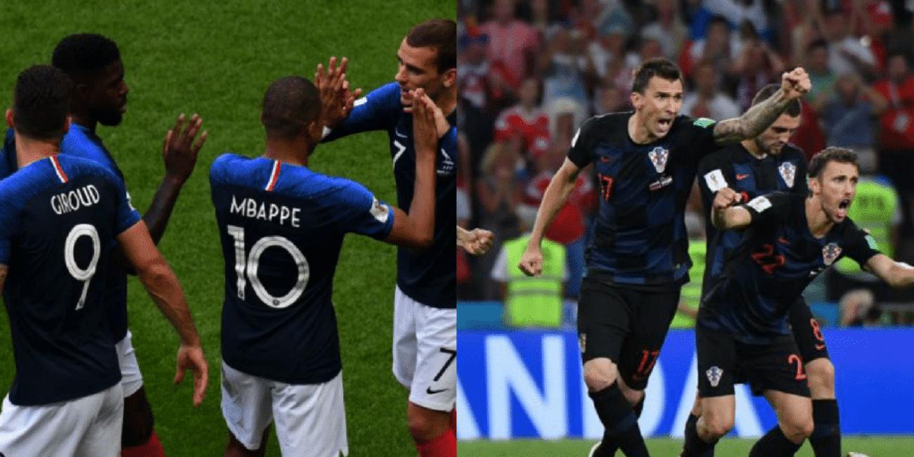 Francia Croazia streaming dove vederla