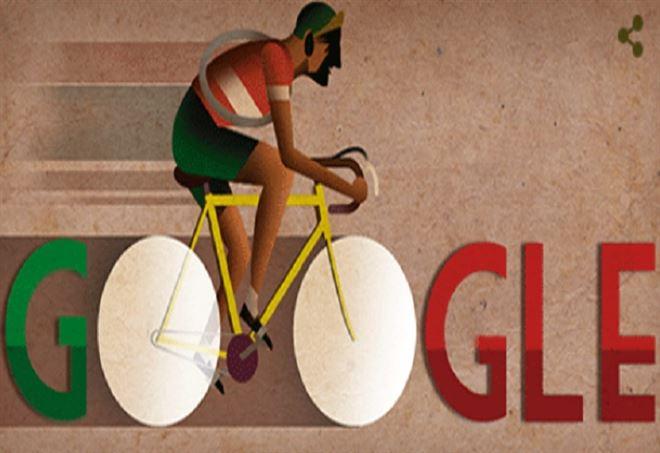Gino Bartali doodle google