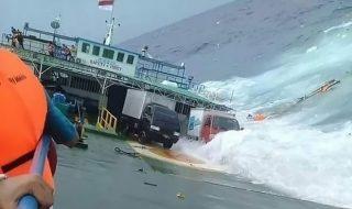 incidente traghetto indonesia