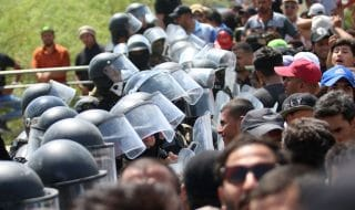 iraq scontri esercito manifestanti