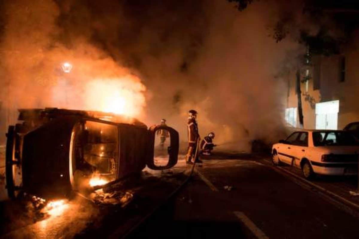 scontri polizia nantes