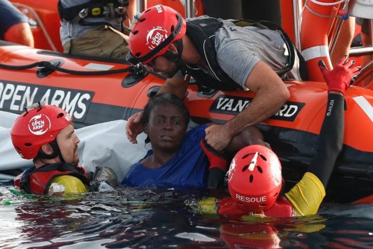 naufragio libia donna sopravvissuta