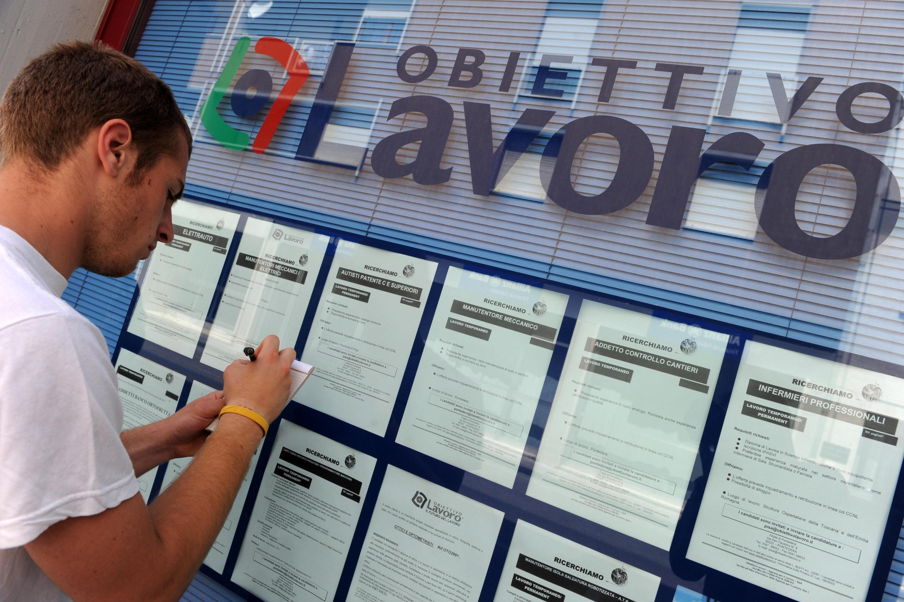 istat disoccupazione occupati