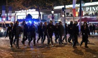 scontri festa mondiale parigi