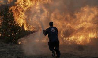 vigili del fuoco incendi grecia