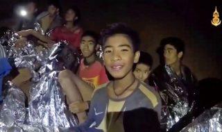 thailandia ragazzi grotta