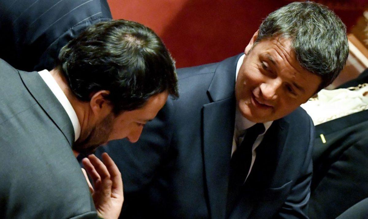 5 domande di Renzi a Salvini
