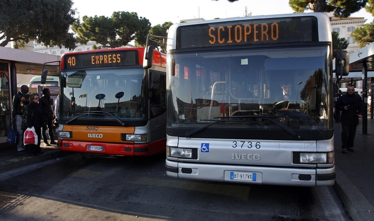 sciopero mezzi 26 luglio roma
