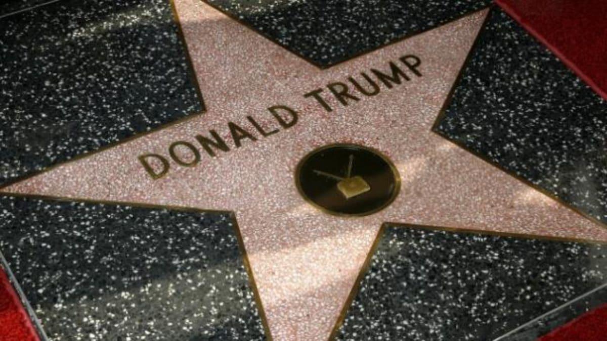 trump stella walk of fame