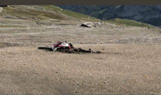 aereo precipitato svizzera