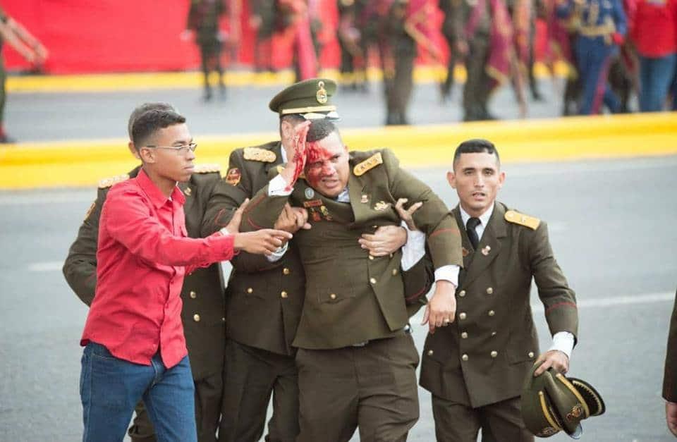 attentato maduro venezuela droni