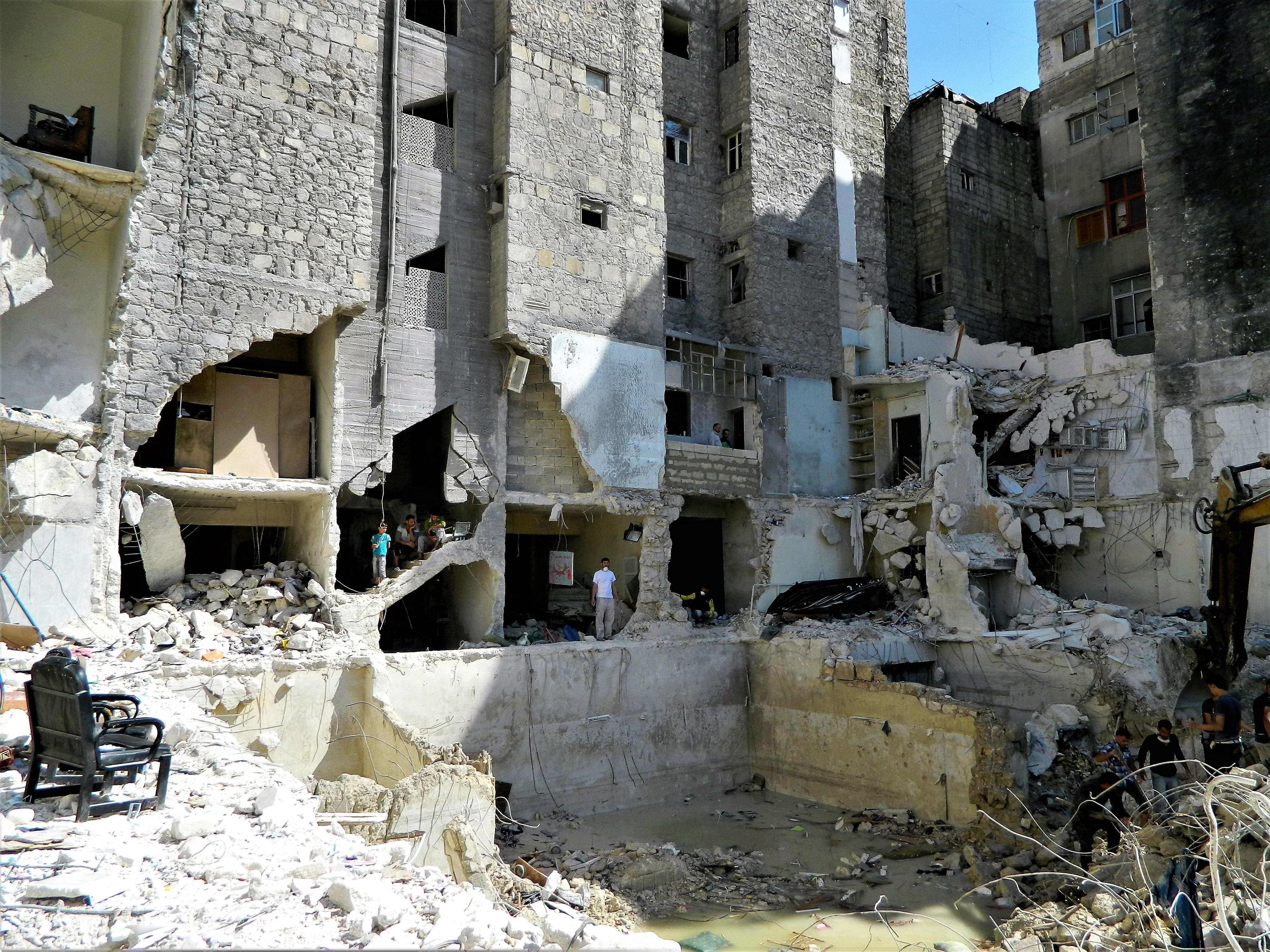 Aleppo ricerca corpi
