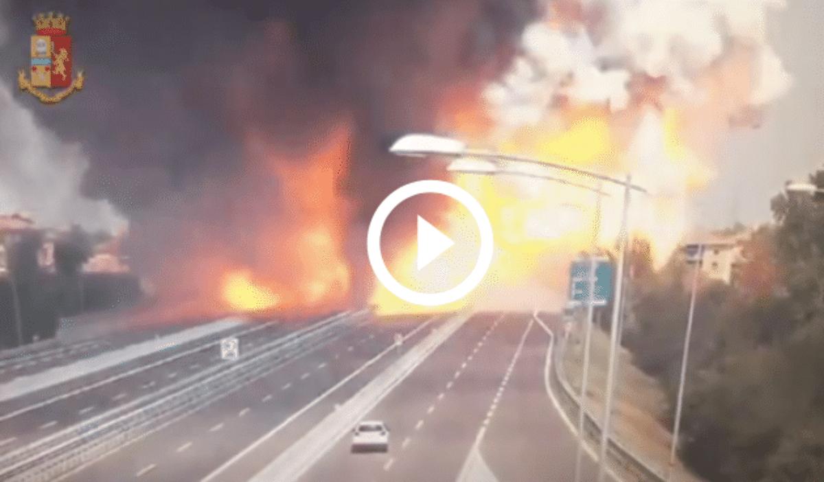 Video esplosione Bologna