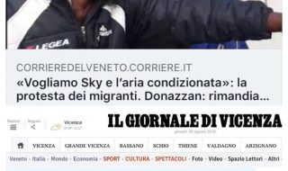 Bufala richiedenti asilo abbonamento Sky