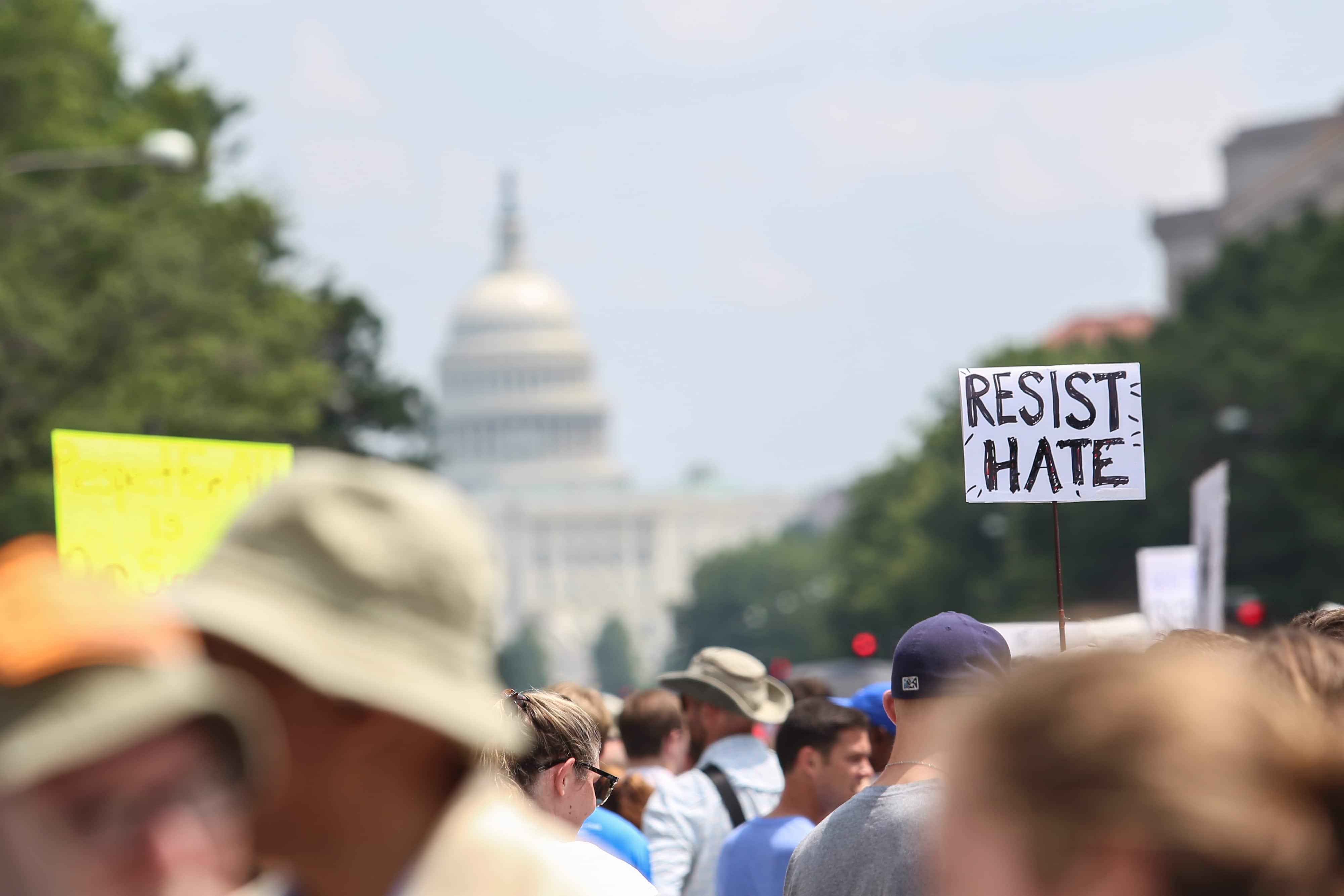 Charlottesville manifestazione Washington