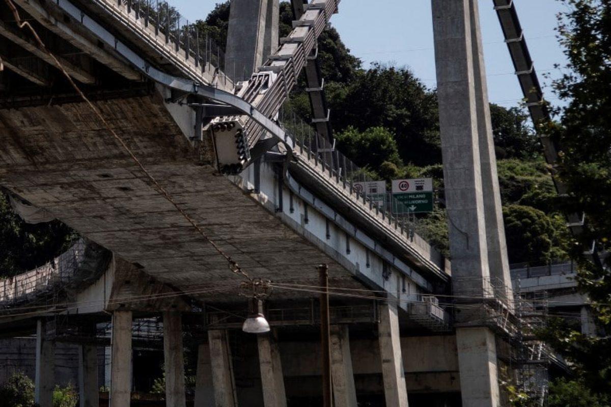 ponte genova investigatore autostrade