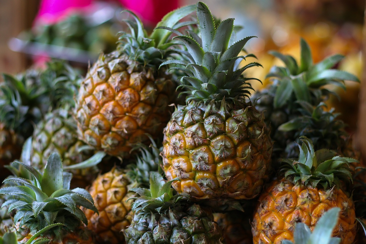 contrabbando cocaina ananas