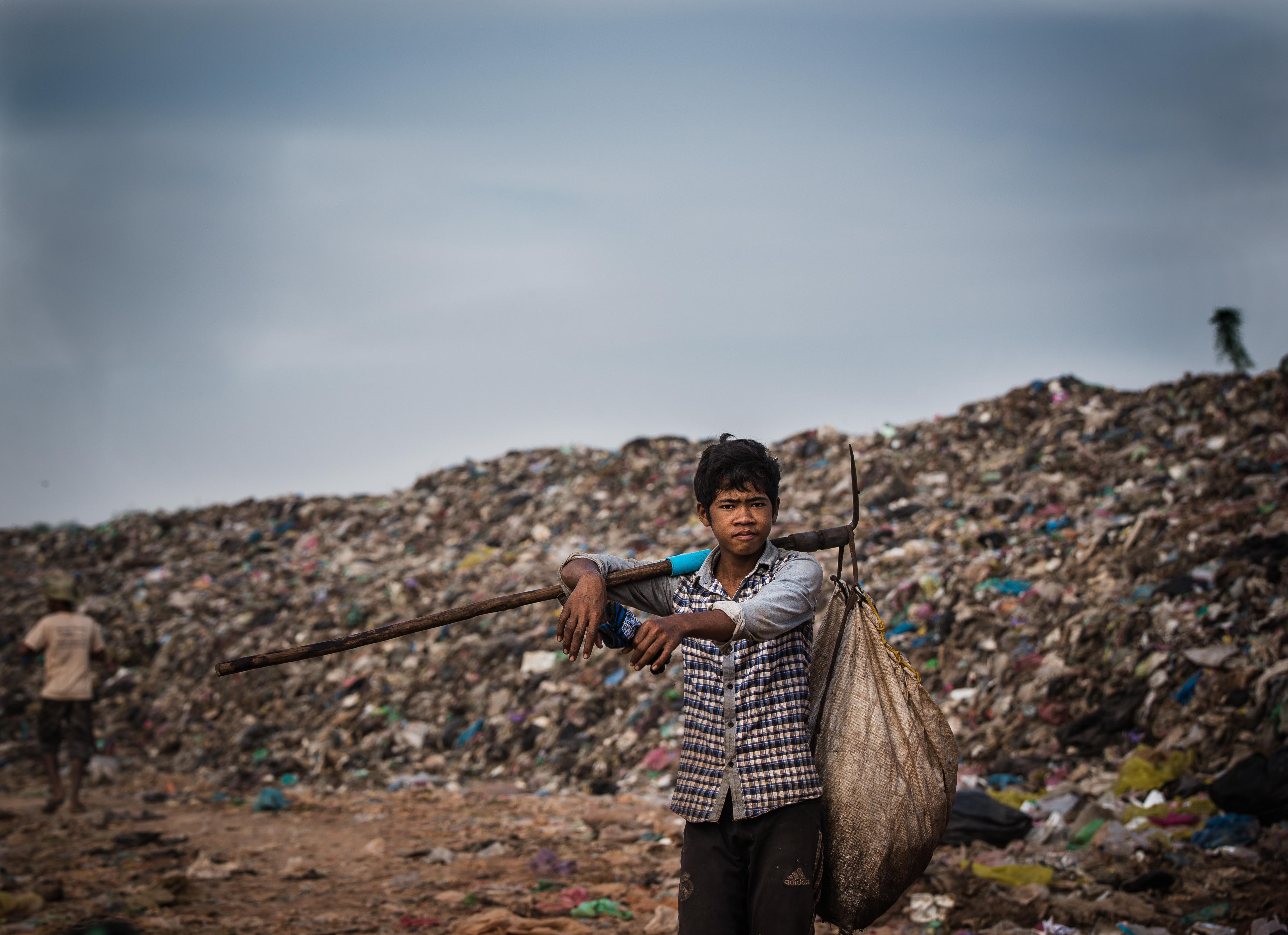 cambogia discarica