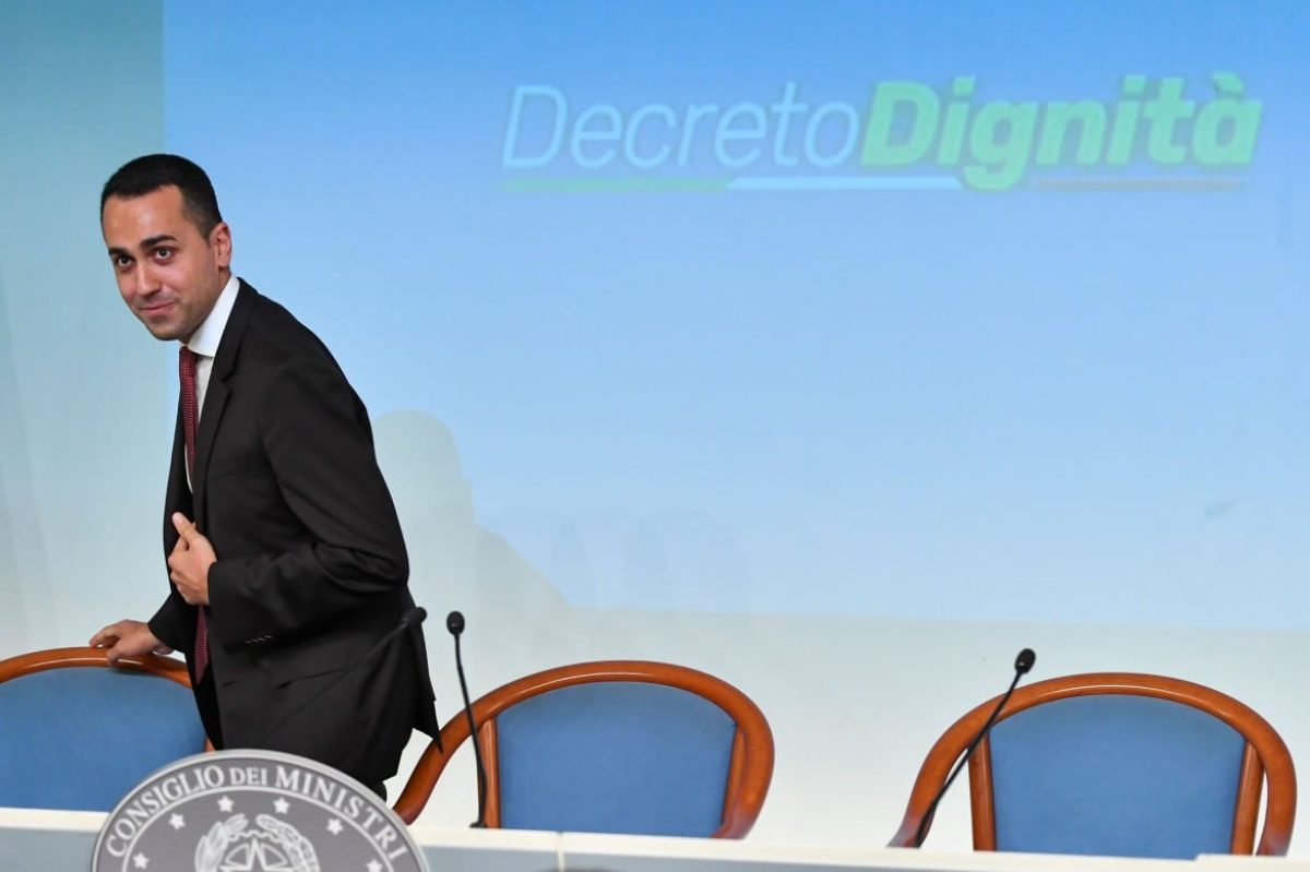 decreto dignita approvato camera