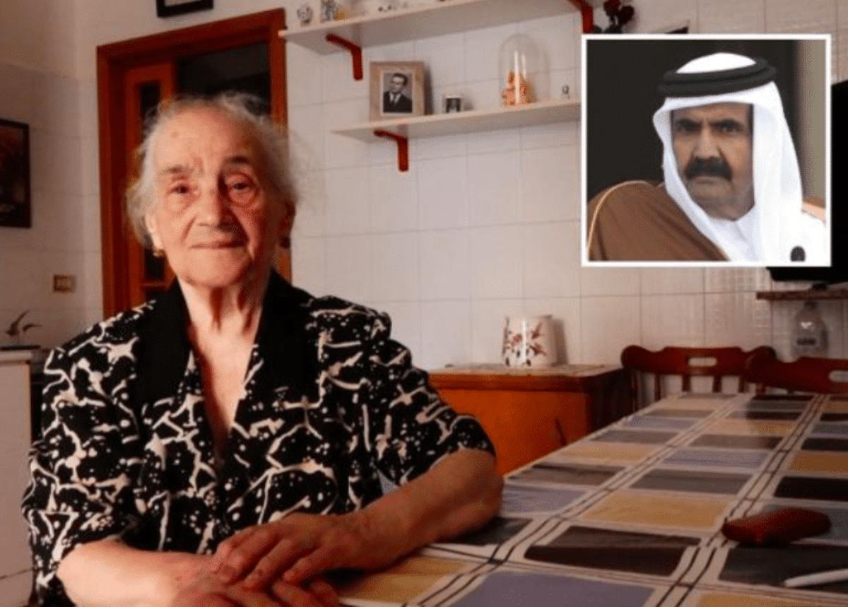 emiro qatar nonna teresa brindisi