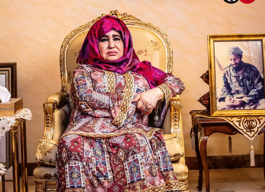 osama bin laden madre