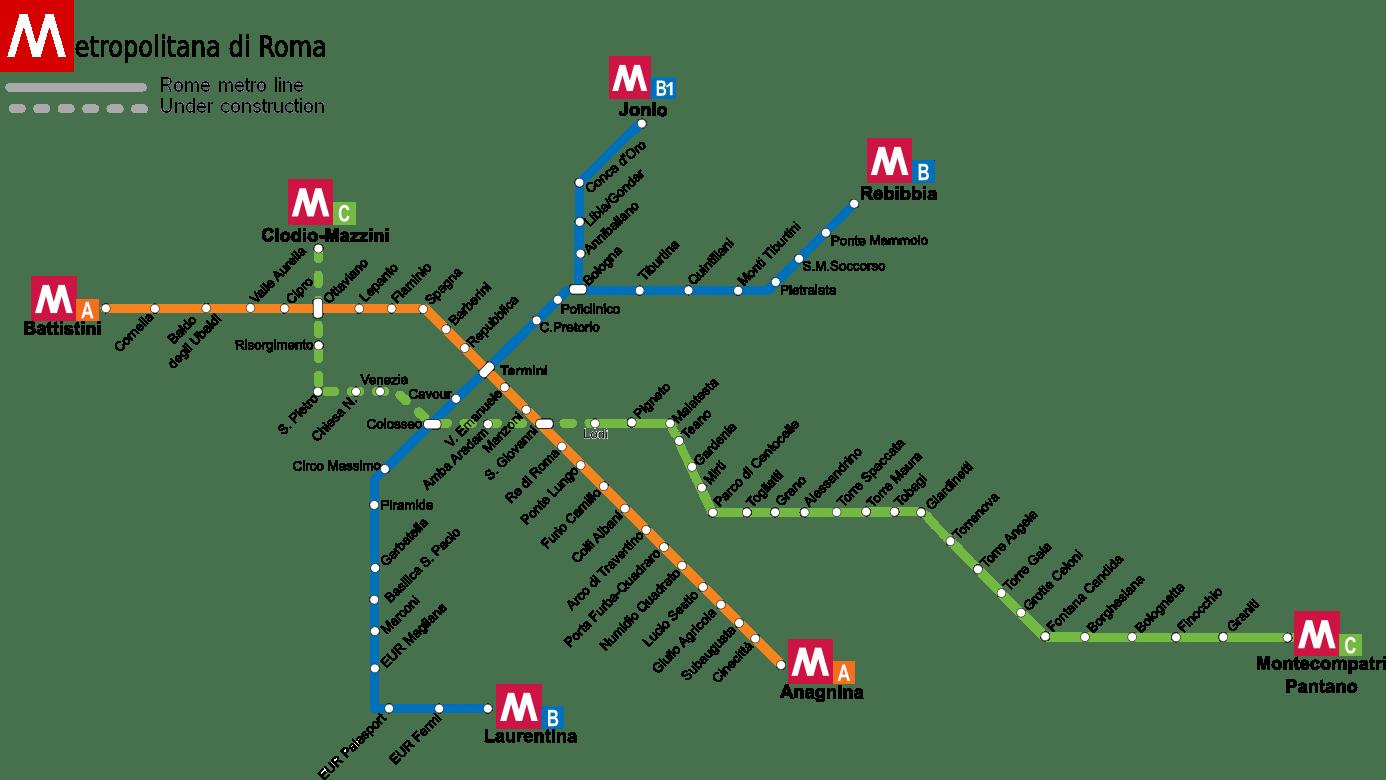 metro roma chiusa