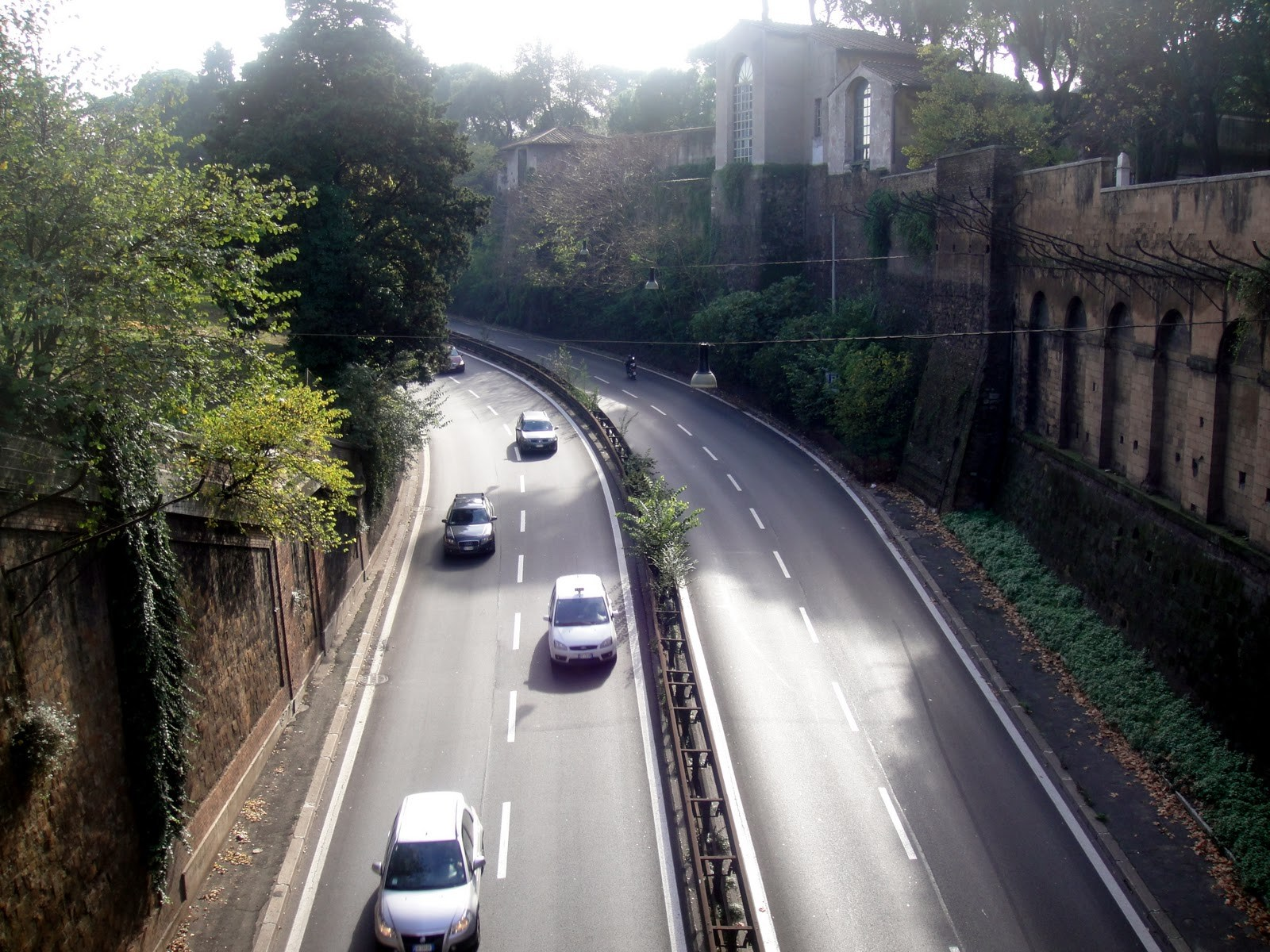 Chiusura Muro Torto Roma