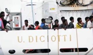 Nave Diciotti migranti salvini