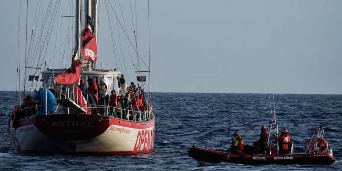 open arms mediterraneo