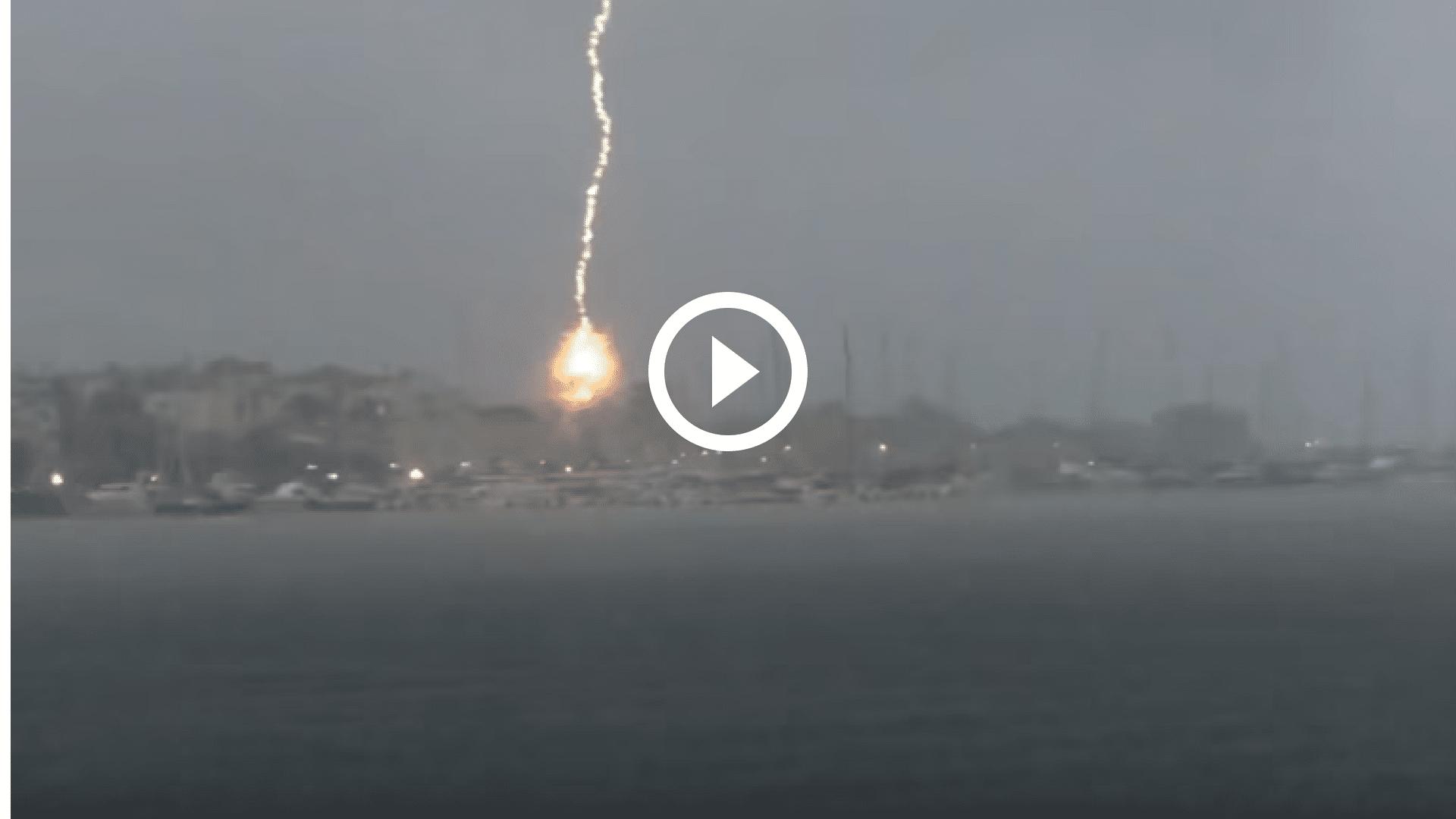 video fulmine barca carloforte