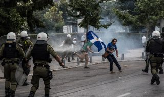 grecia proteste salonicco