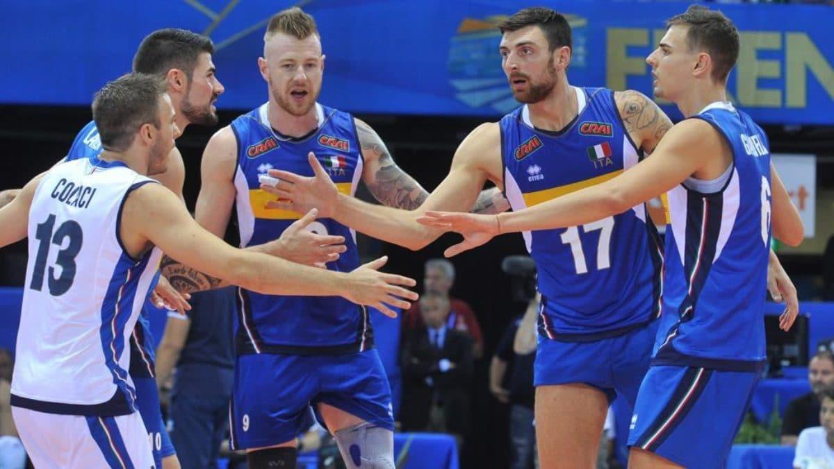 Italia Olanda volley mondiali 2018 streaming tv