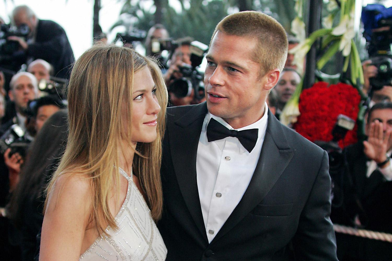 Brad Pitt Jennifer Aniston insieme