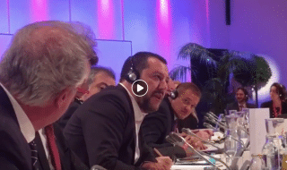 Salvini ministro Lussemburgo video