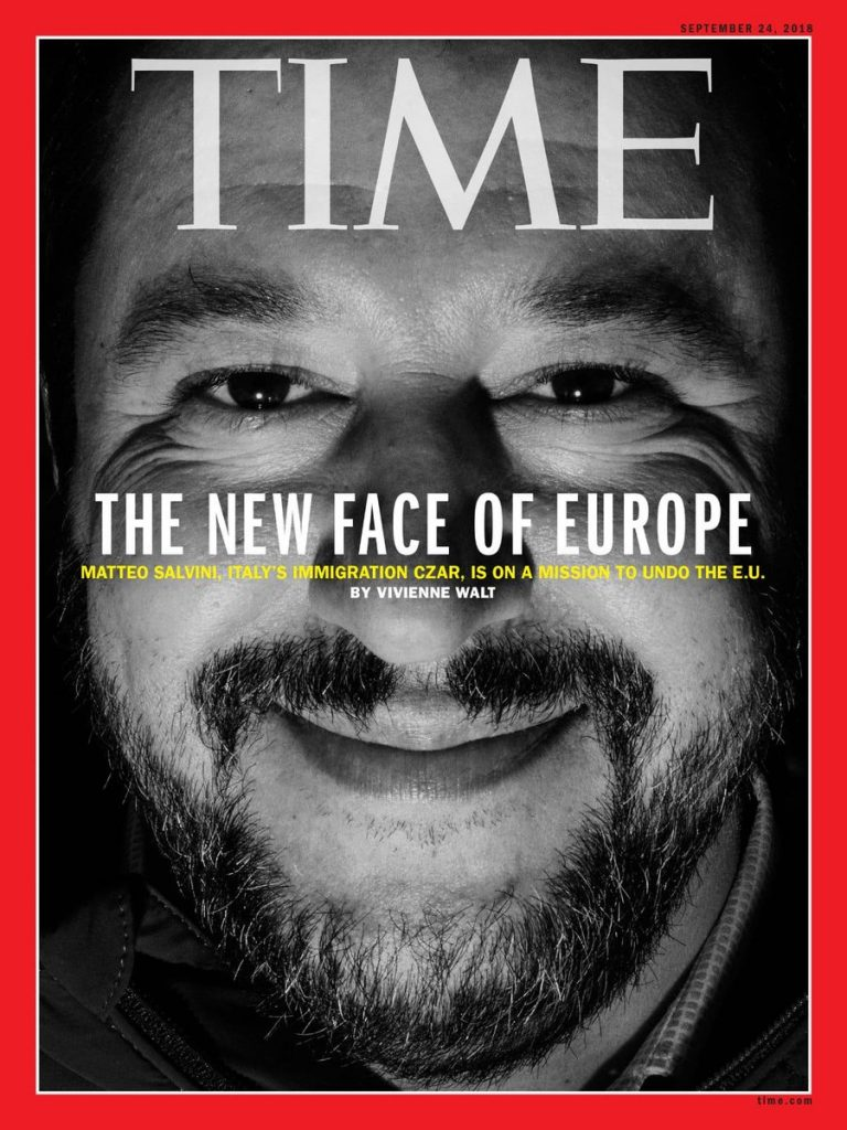 Salvini copertina Time