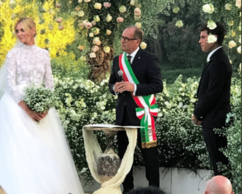 Matrimonio Ferragni In Diretta : Matrimonio chiara ferragni e fedez la diretta dell
