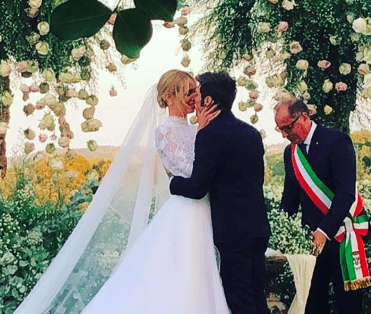 ca612aee3ed8 Matrimonio Chiara Ferragni e Fedez