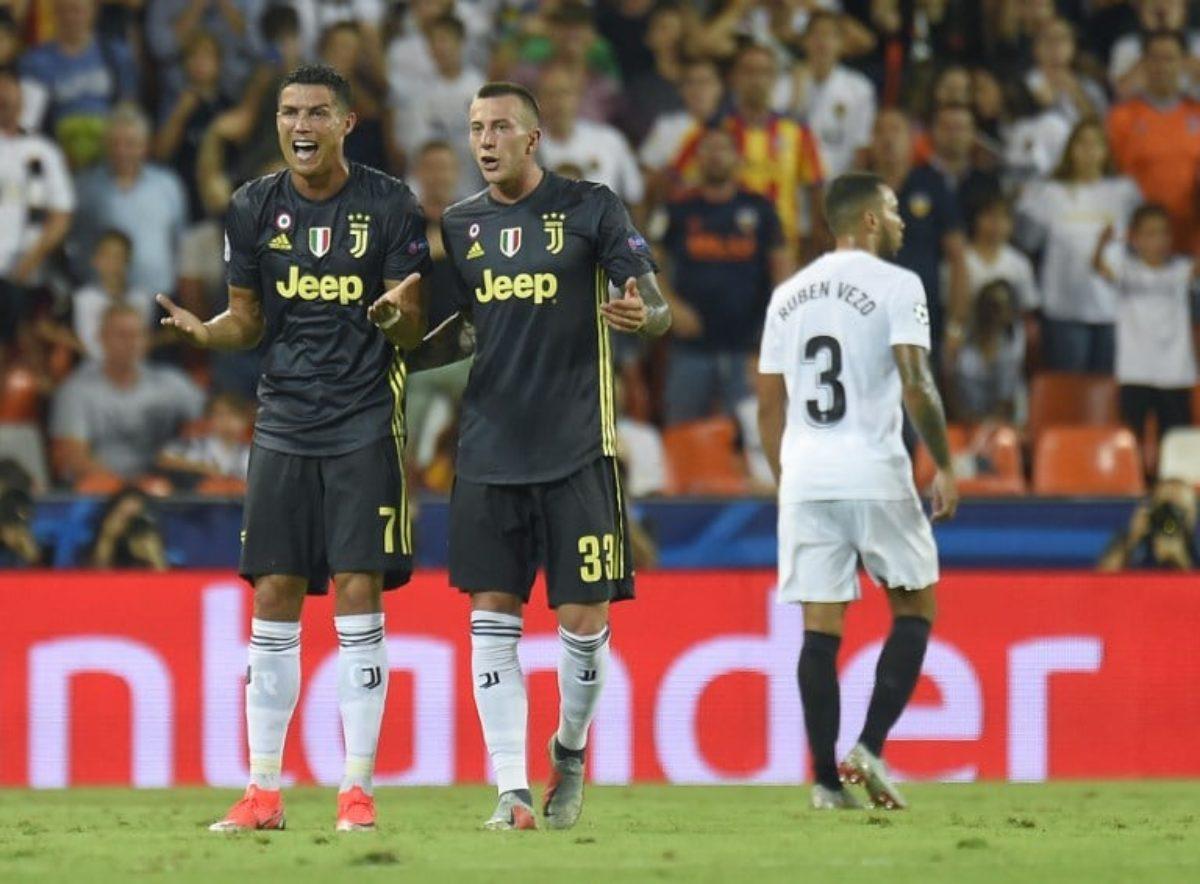 Valencia Juventus diretta live risultato