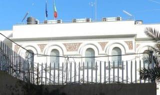 colpo mortaio ambasciata italiana tripoli