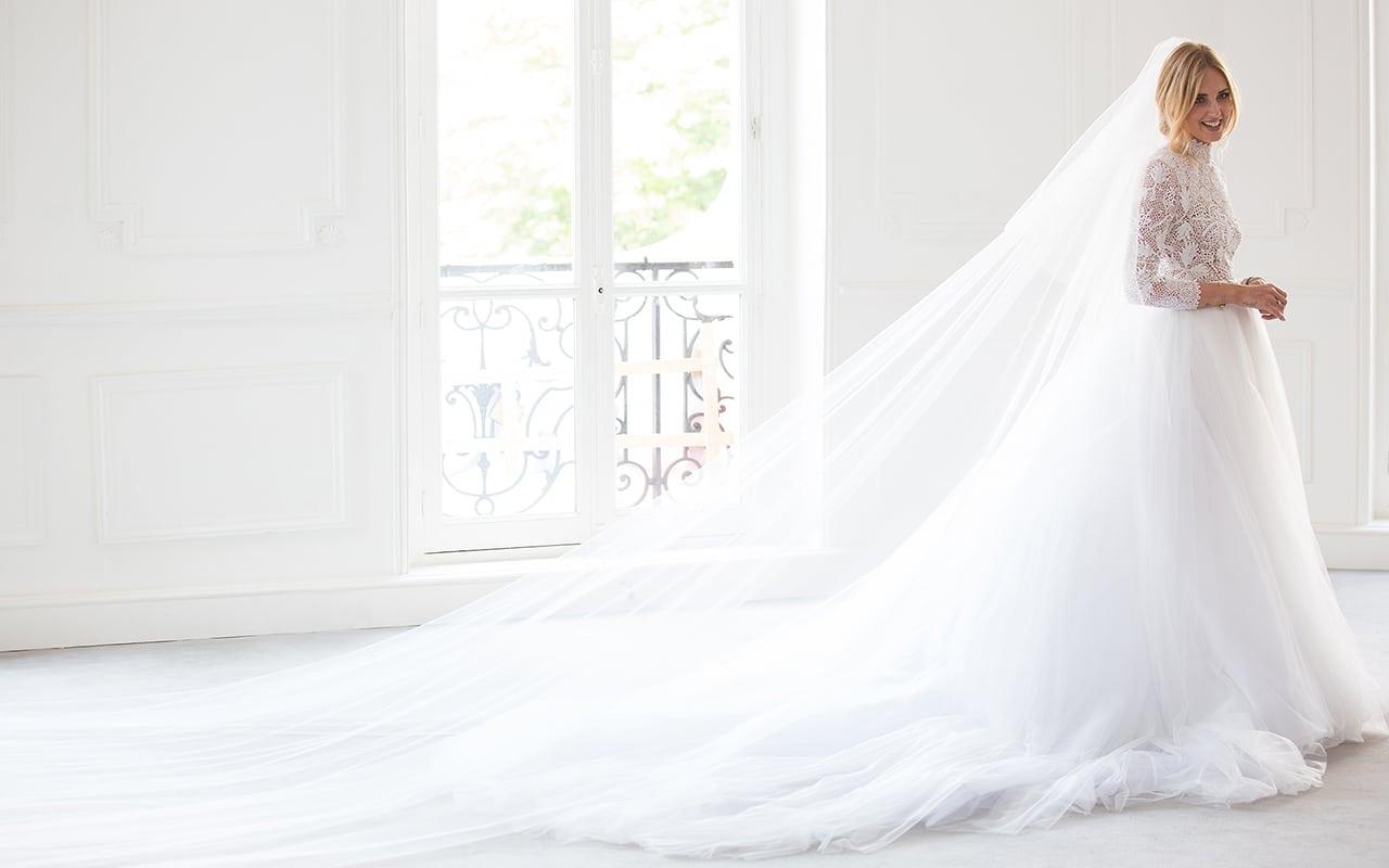 low priced f6547 d9874 Chiara Ferragni vestito matrimonio: l'abito da sposa di Dior ...