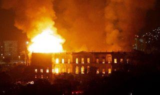 incendio museo brasile