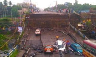 india crollo ponte