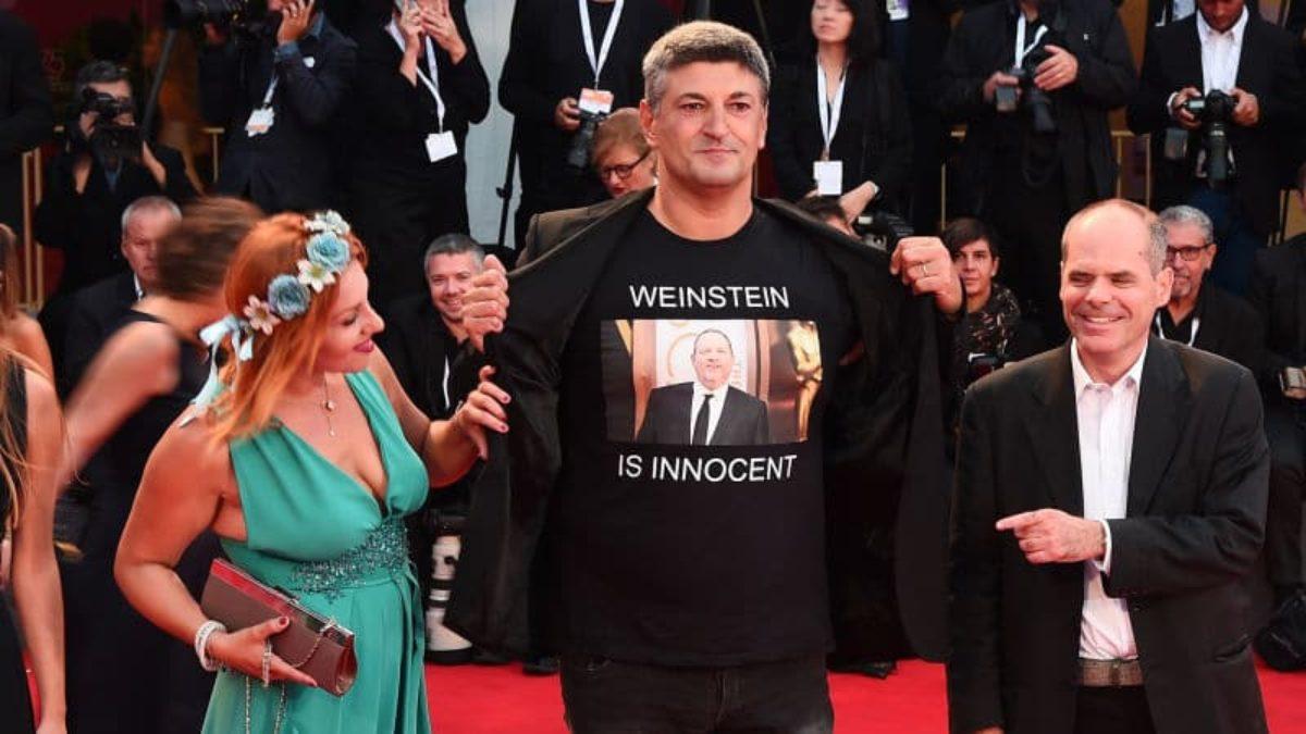 venezia 75 t shirt pro weinstein