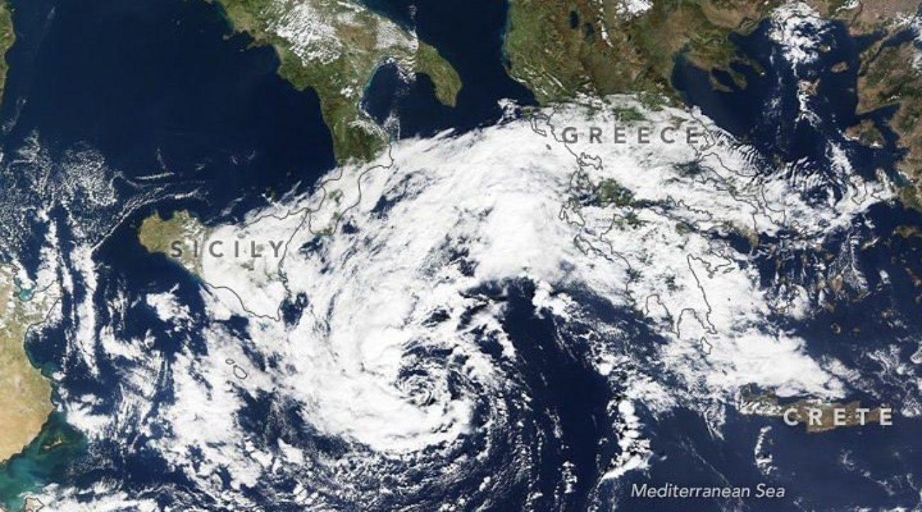 ciclone mediterraneo