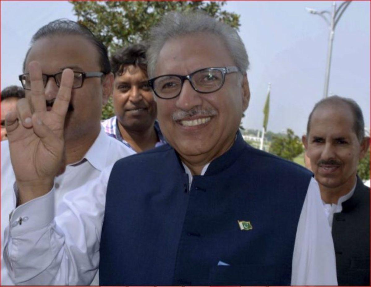 pakistan eletto presidente