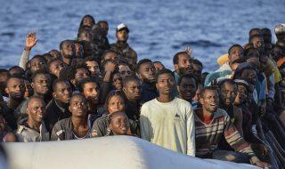 soccorso gommone migranti libia