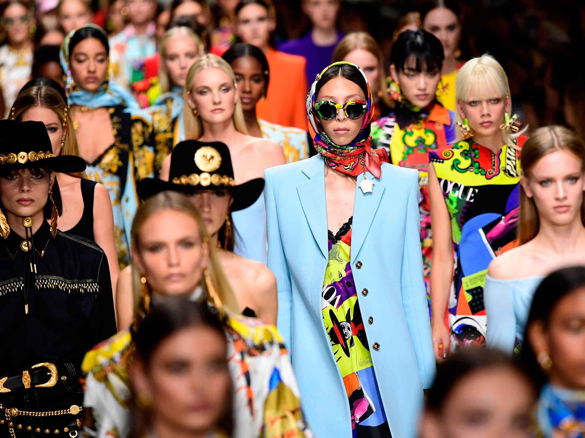 versace storia moda
