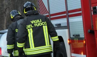 pensionata sgomberata vigili del fuoco